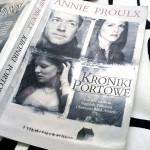 """""""Kroniki portowe"""" Annie Proulx"""