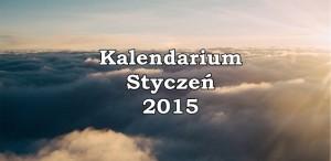 kalendarium okładka styczeń 2015