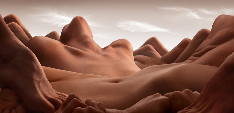 Valley of the Reclining Woman Carl Warner