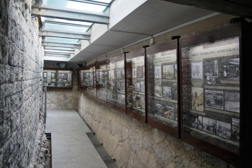 Wystawa Dzieje Rynku Krakowskiego i Kościoła św. Wojciecha fot. Agnieszka Susuł