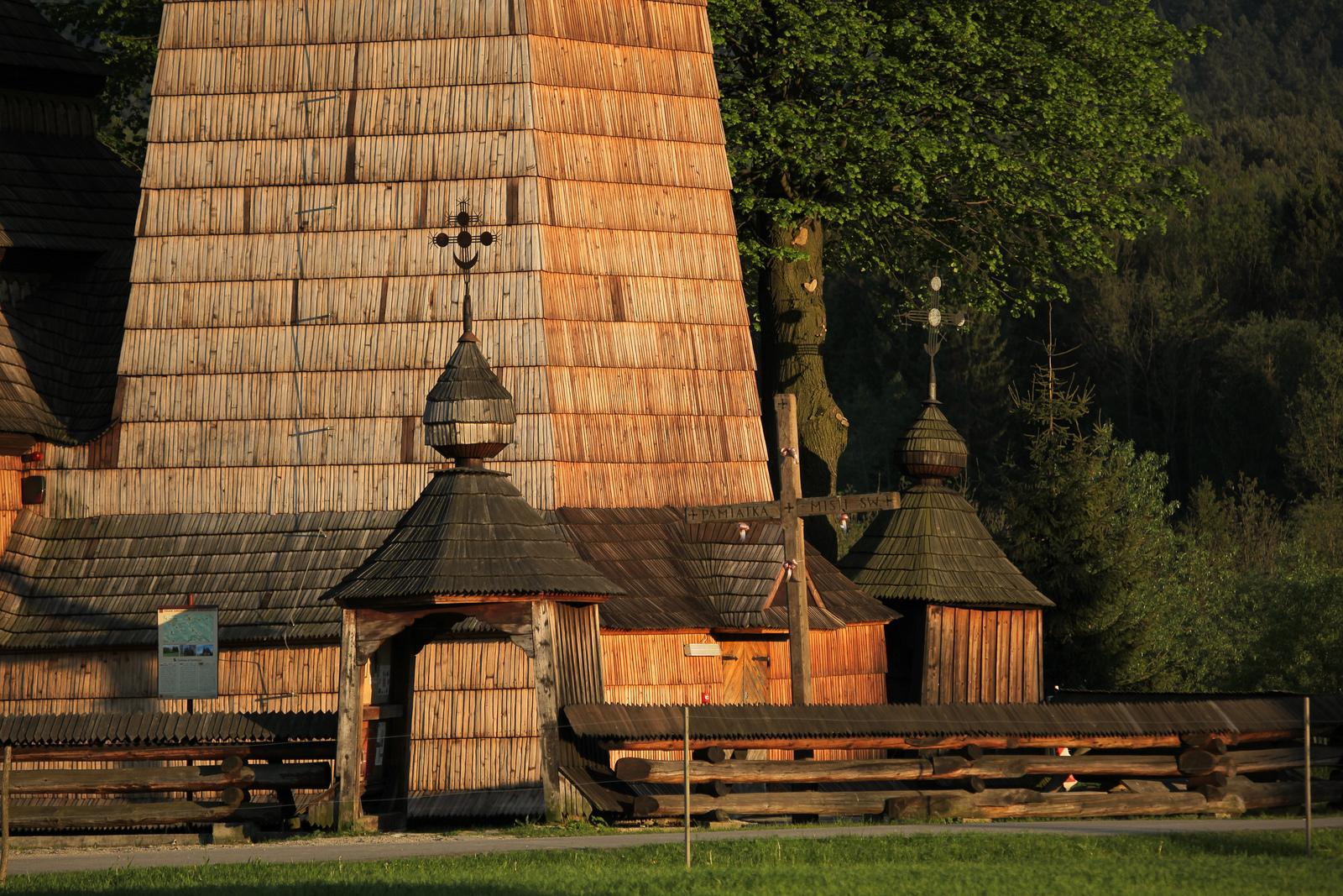 Drewniane cerkwie