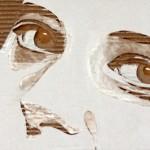 Giles Oldershaw i portrety z kartonu