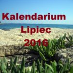 KALENDARIUM - LIPIEC 2016