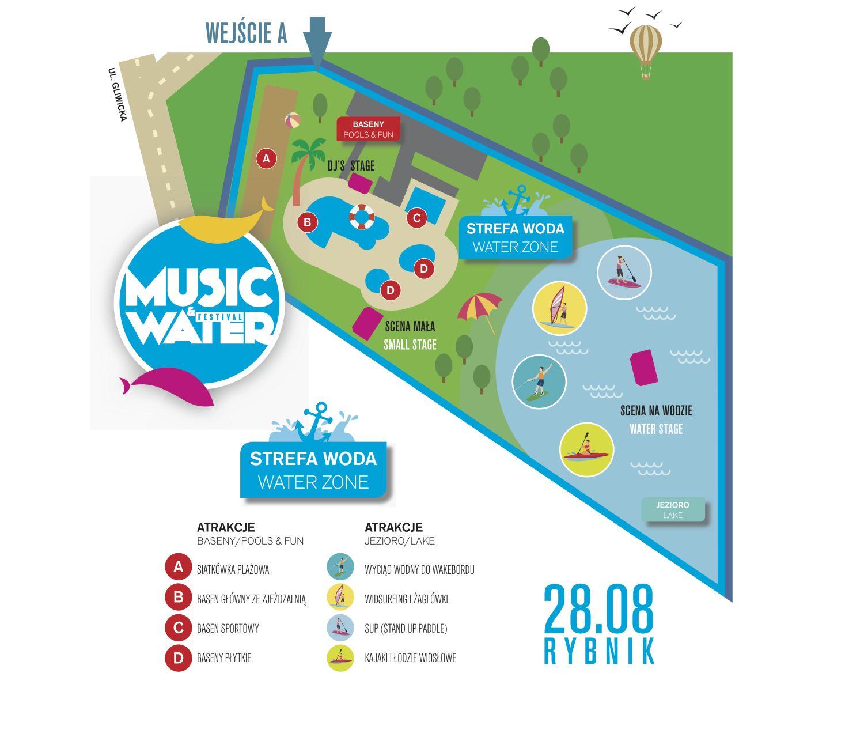 MWF Strefa Woda. Mapa