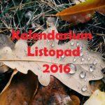 Kalendarium – listopad 2016