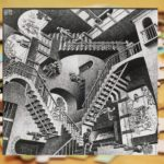 Świat bywa czarno-biały – w każdym razie świat M.C. Eschera