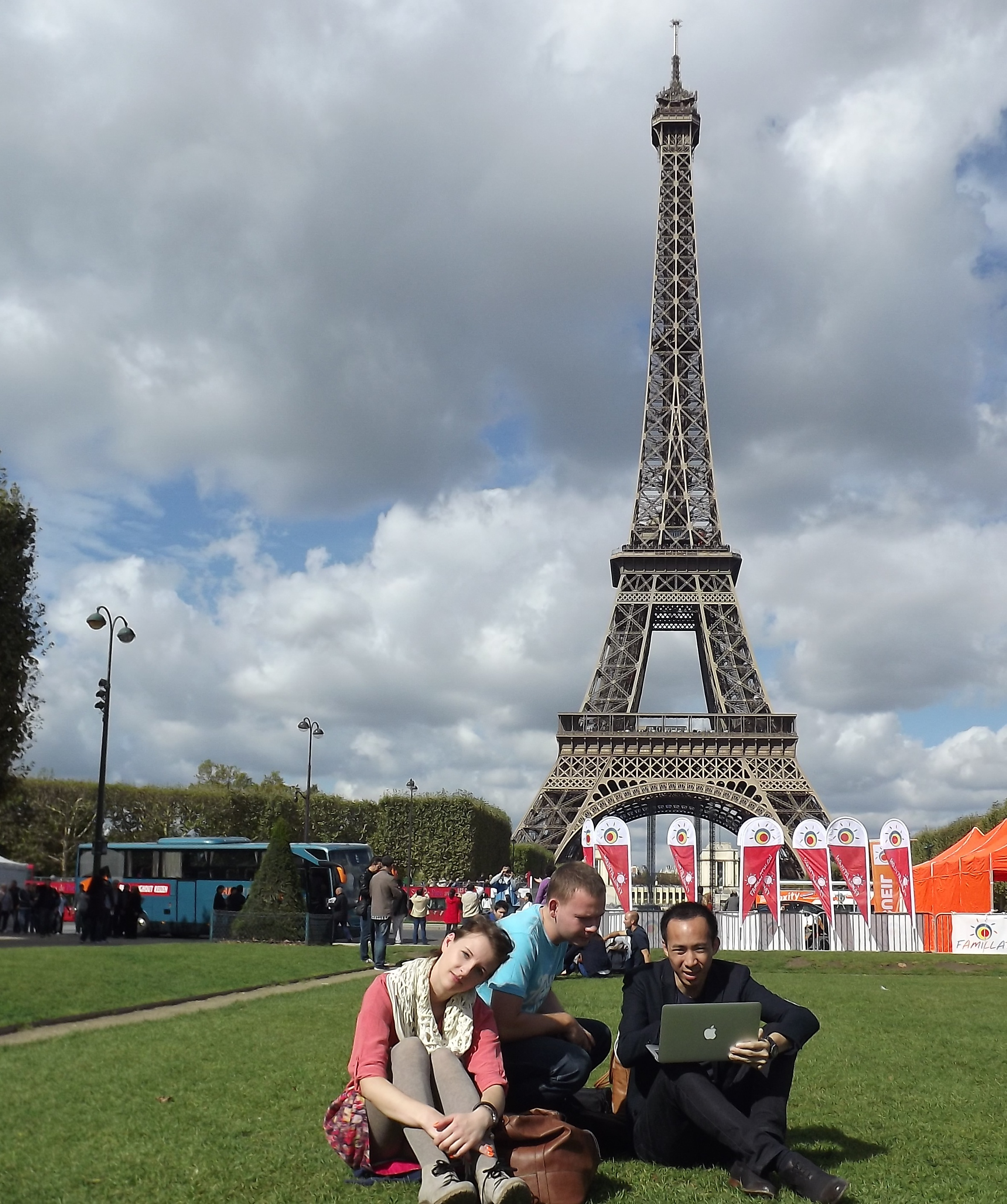 Zwiedzanie Paryża