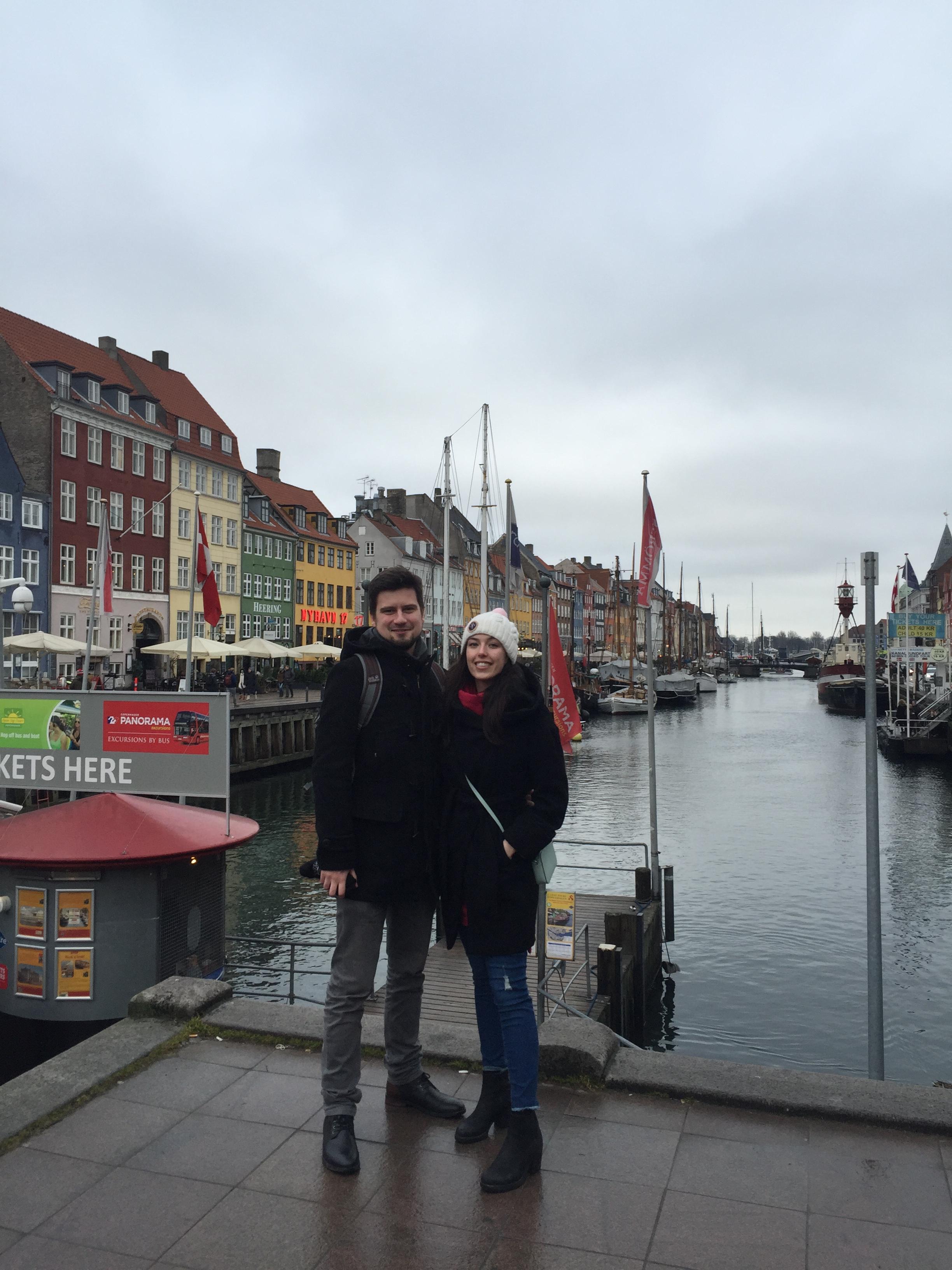 Ania z mężem Albertem
