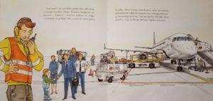 """Obserwacja obsługi pierwszego porannego samolotu pod terminalem (""""Mam przyjaciela, który obsługuje samoloty"""")"""