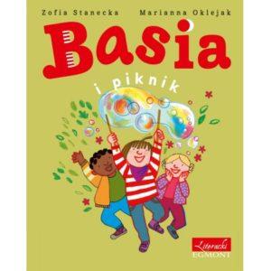 Basia i piknik okładka Basia, Titi i Anielka puszczają bańki