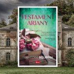 """Konkursz z książką """"Testament Ariany"""""""
