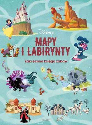 Disney, Mapy i Labirynty, okładka, postaci z bajek