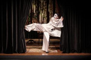 """Pantomima, spektakl """"Kwartet"""" (reż. Wojciech Adamczyk, fot. Bartek Warzecha)"""