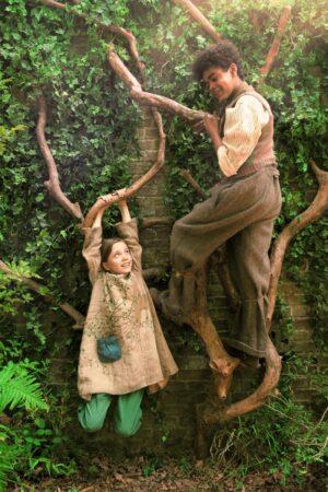 Tajemniczy ogród - Mary Lennox i Dickon