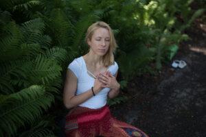 Mindfulness - Joanna Nogaj medytuje