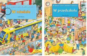 W mieście - W przedszkolu - okładki - Guido Wandrey