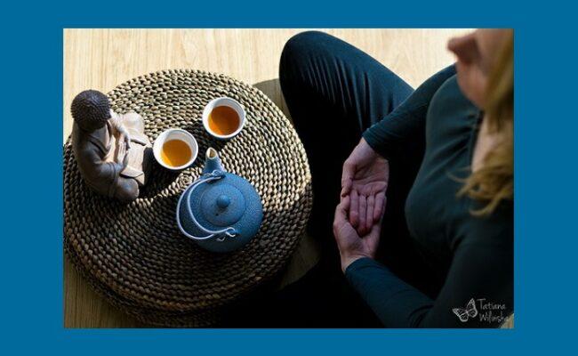 Mindfulness - Joanna Nogaj - medytacja przy herbacie